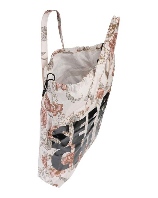See By Chloé White Schultertasche