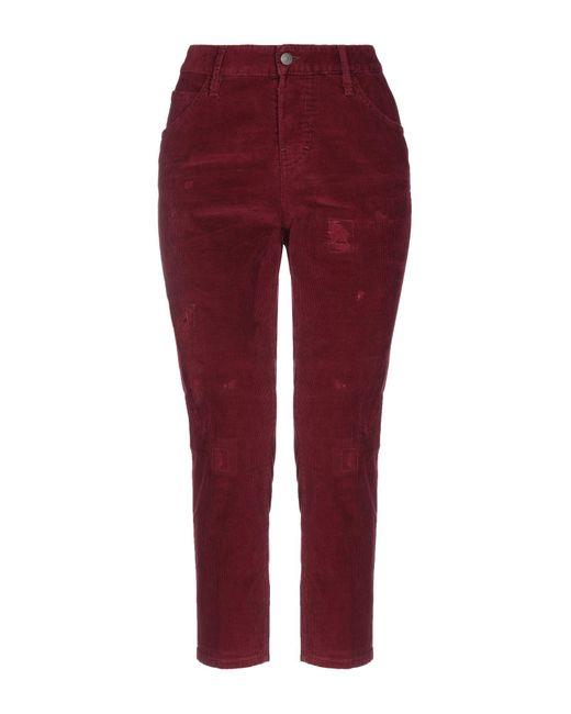 Pantacourt DSquared² en coloris Red