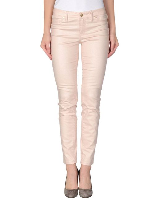 Marciano Pink Casual Trouser