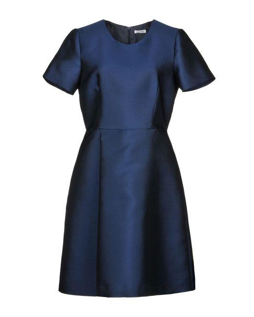 Robe courte P.A.R.O.S.H. en coloris Blue