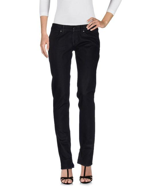 Dondup - Black Denim Pants - Lyst