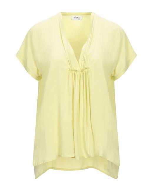 Ottod'Ame Yellow Bluse