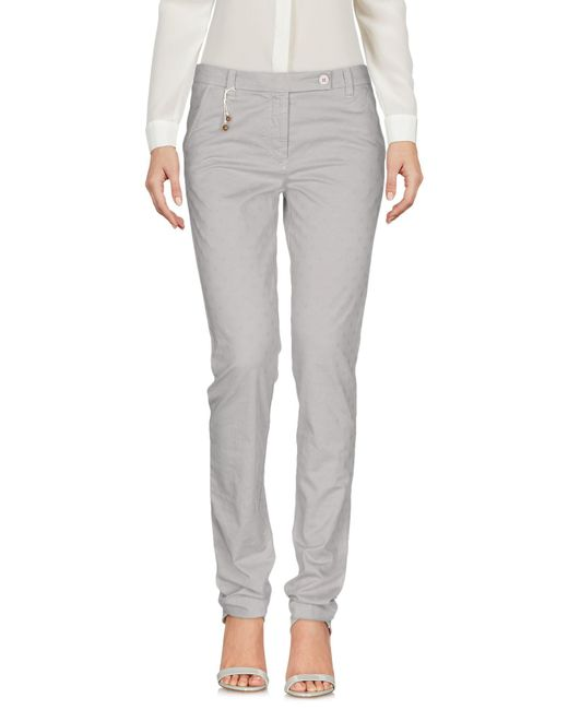 Incotex Gray Casual Trouser