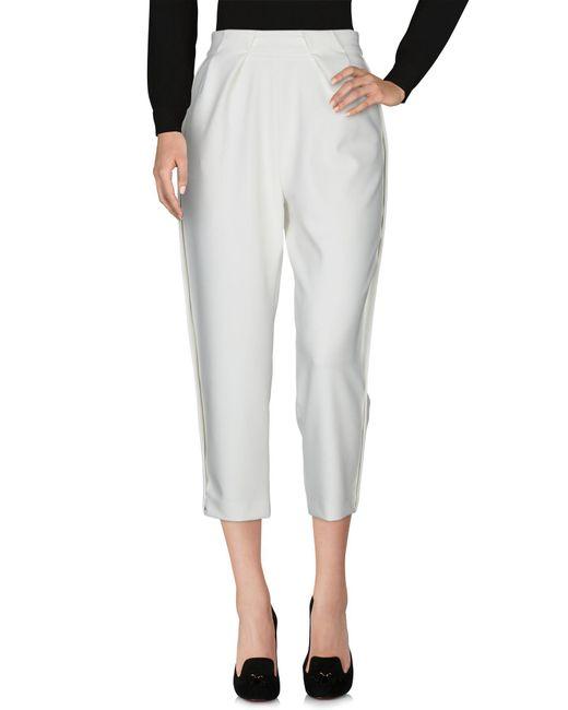 Annie P White Casual Pants