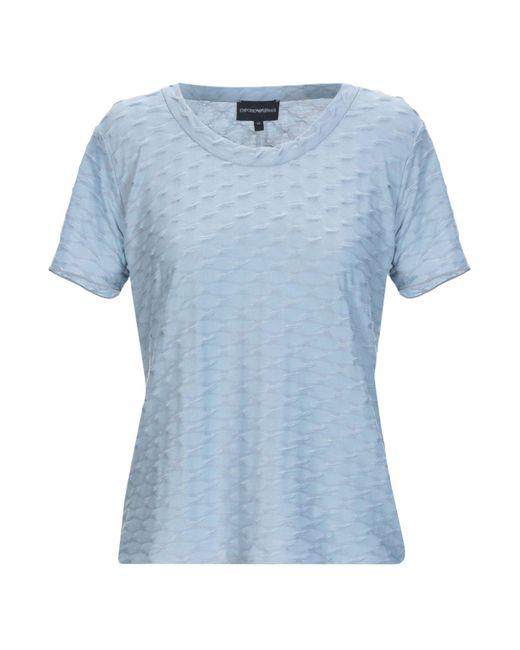 Pullover Emporio Armani en coloris Blue
