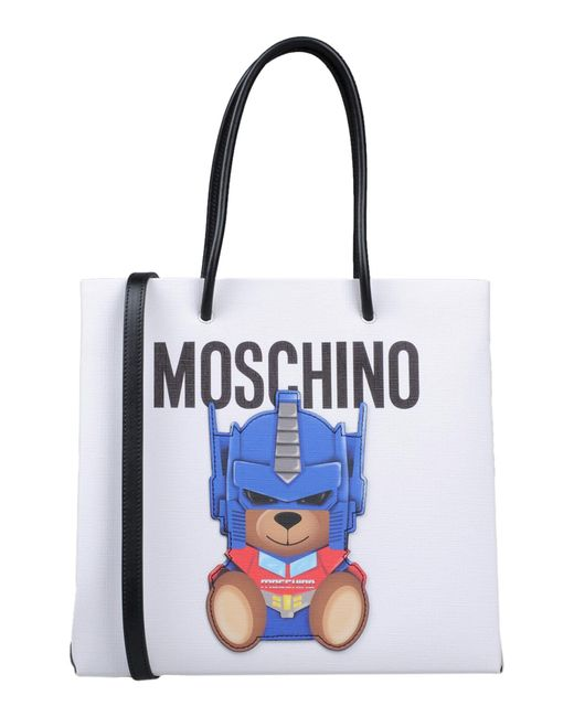 Moschino - White Handbag - Lyst