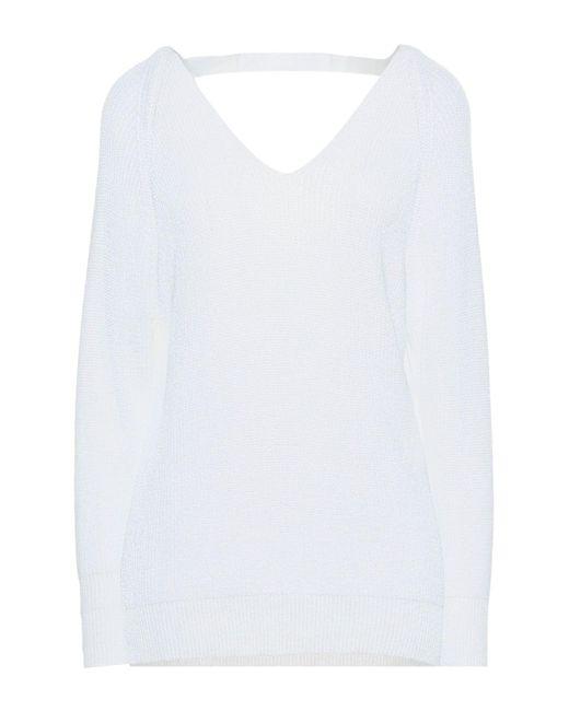 Pullover di Jucca in White