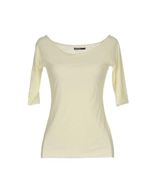 Almeria - Yellow T-shirt - Lyst
