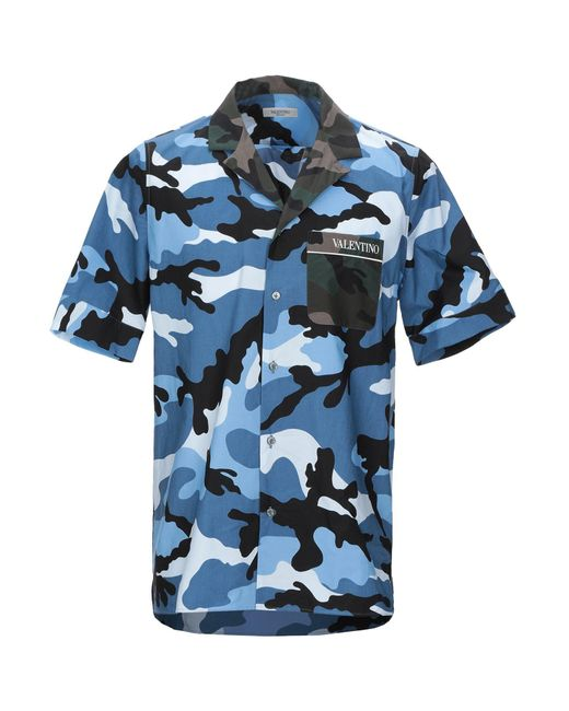 Valentino Blue Shirt for men