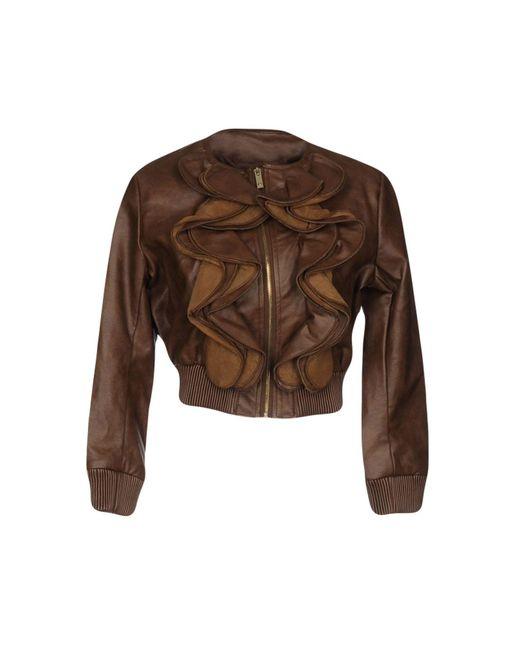 Relish - Brown Jacket - Lyst