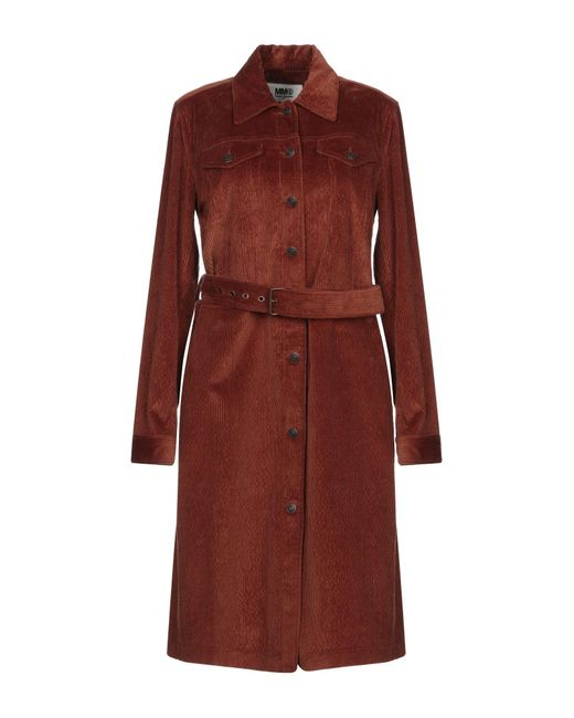 Cappotto di MM6 by Maison Martin Margiela in Brown