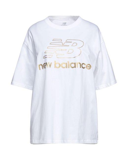 New Balance White T-shirt