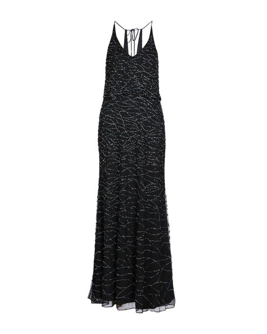 Armani - Black Long Dress - Lyst