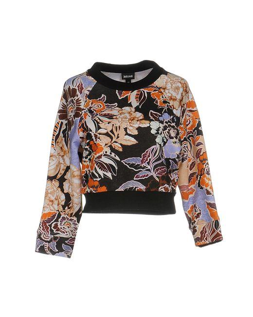 Just Cavalli - Gray Sweatshirts - Lyst