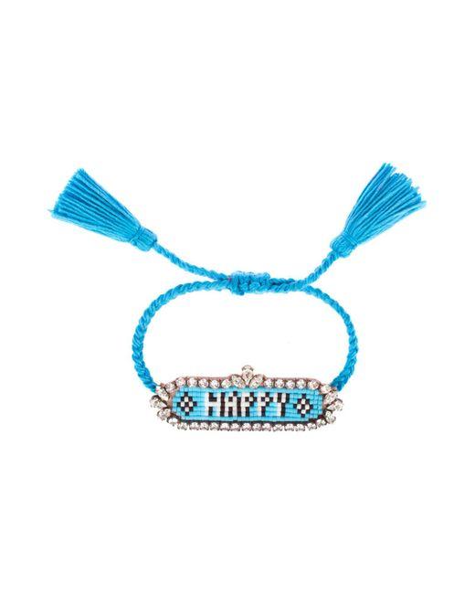 Shourouk - Blue Bracelets - Lyst