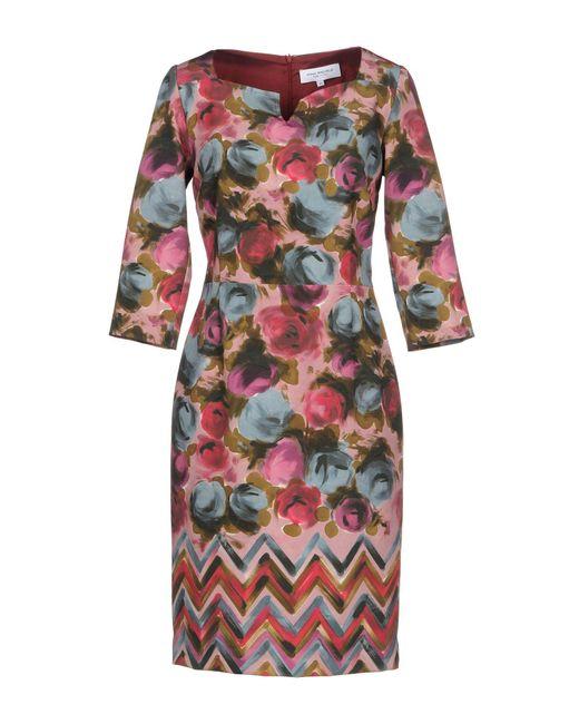 Anna Rachele - Pink Short Dress - Lyst