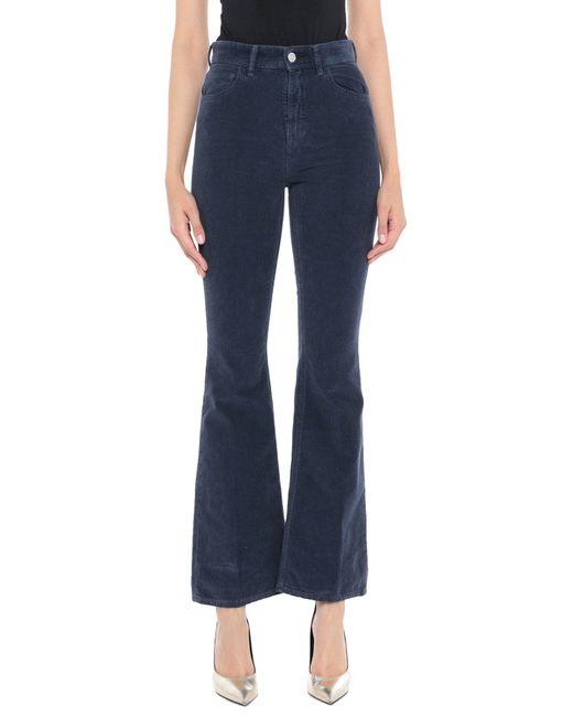 Haikure Blue Casual Pants