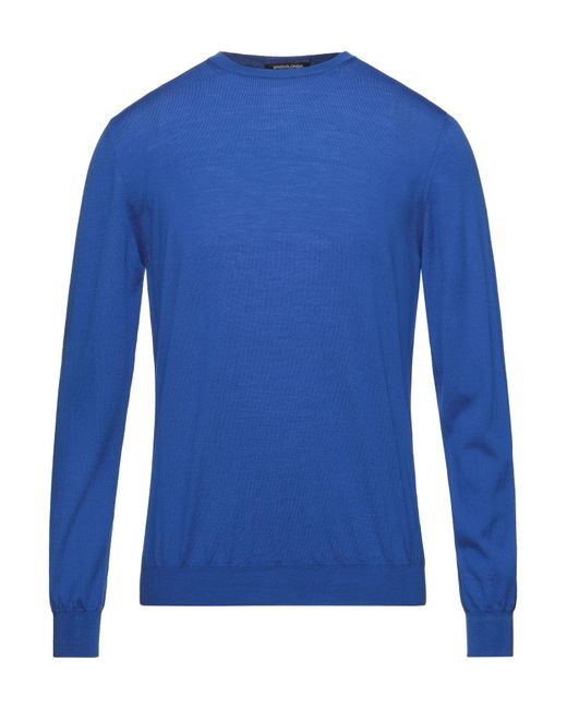 Pullover di SPADALONGA in Blue da Uomo