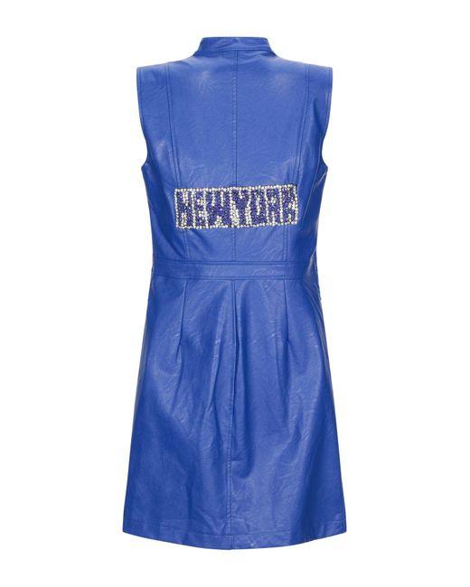 Robe courte Odi Et Amo en coloris Blue