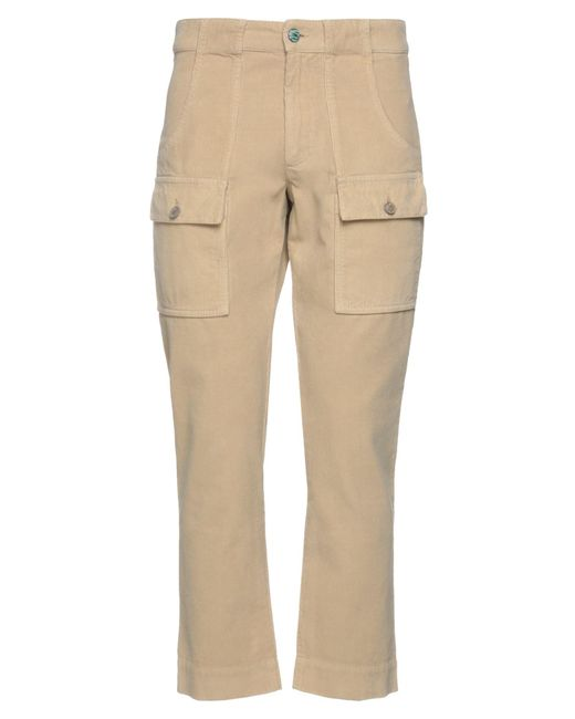 Pantalone di Palm Angels in Natural da Uomo