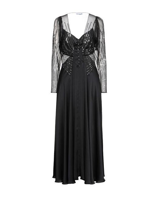 Paco Rabanne Black Langes Kleid