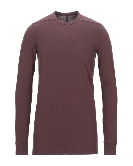 T-shirt Rick Owens pour homme en coloris Purple
