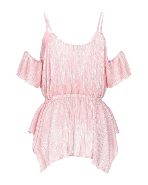 Just Cavalli Pink Bluse