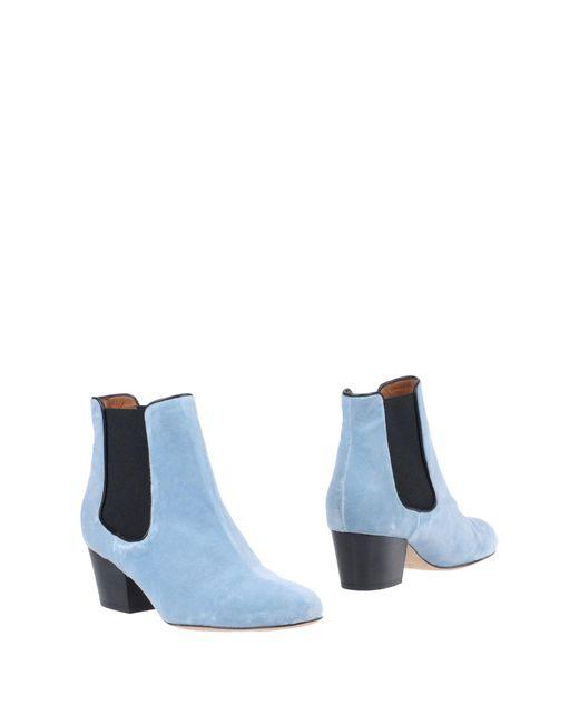 M Missoni - Blue Ankle Boots - Lyst