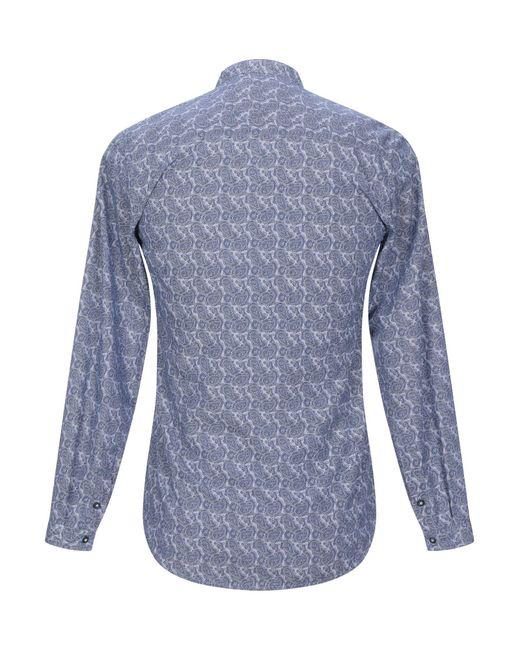 Chemise Berna pour homme en coloris Blue