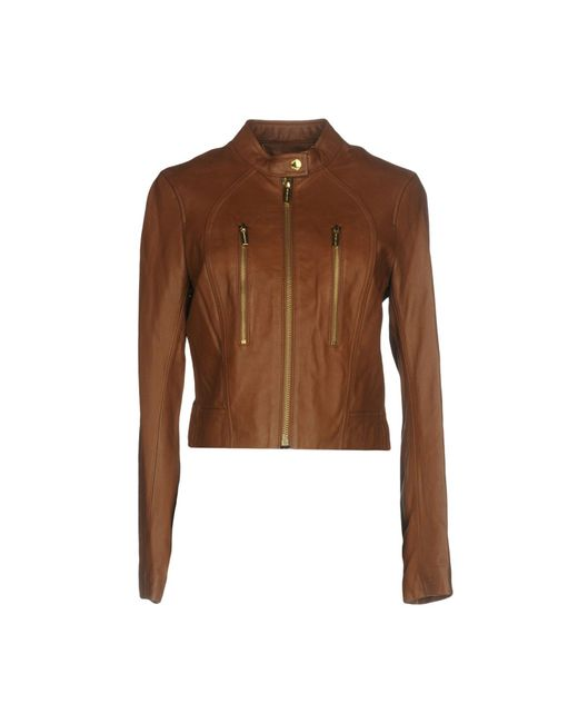 MICHAEL Michael Kors - Brown Jacket - Lyst