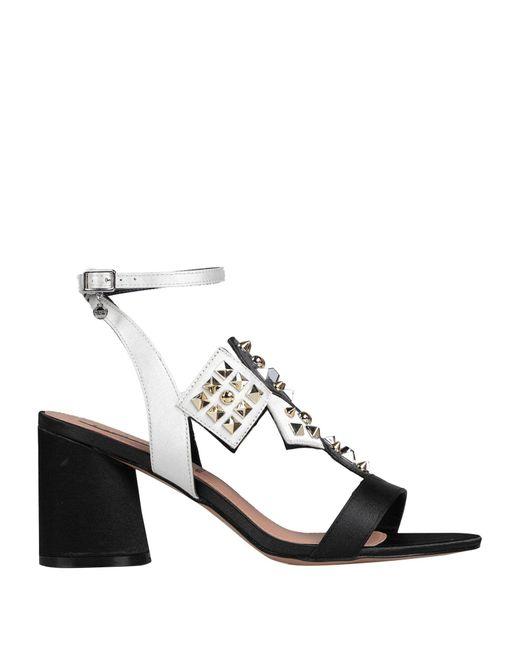 06 Milano Sandalias de mujer de color negro