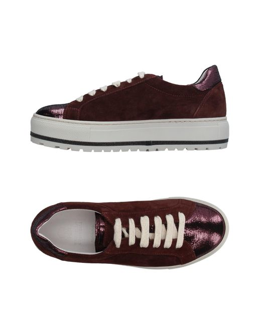 Brunello Cucinelli   Brown Low-tops & Sneakers   Lyst