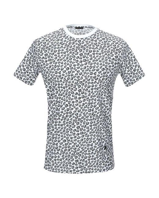 Patrizia Pepe T-shirt da uomo di colore grigio