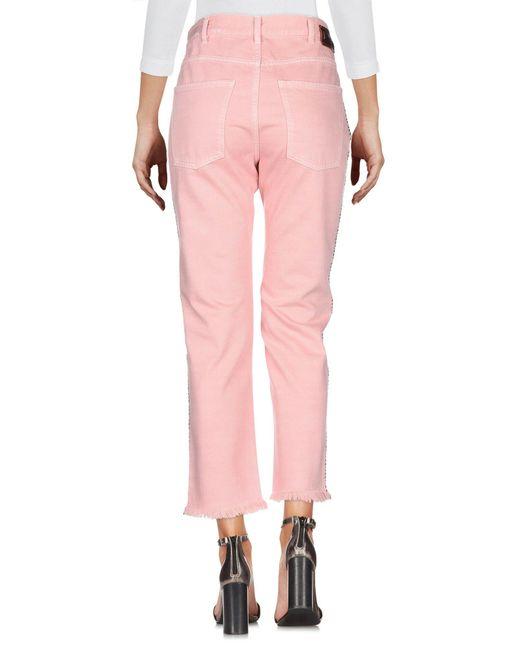 Pence Pink Jeanshose