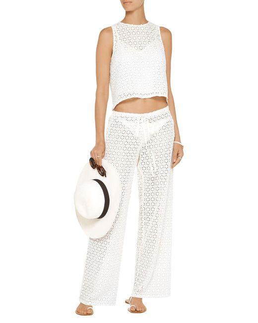 Pantalone di Miguelina in White