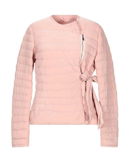 Peuterey - Pink Down Jacket - Lyst
