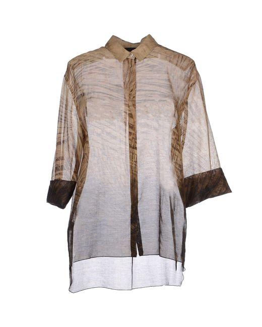 Les Copains - Natural Shirt - Lyst