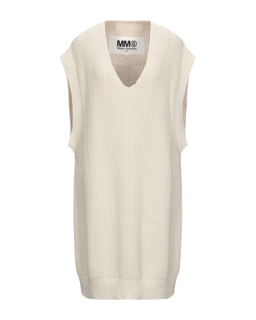 MM6 by Maison Martin Margiela Natural Knee-length Dress