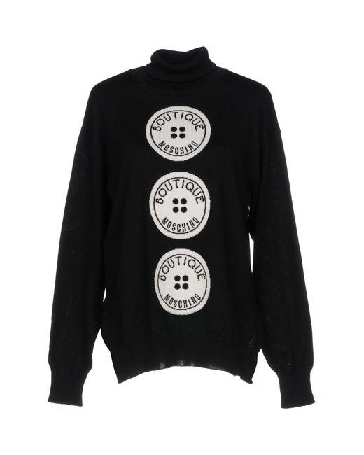 Boutique Moschino - Black Turtleneck - Lyst