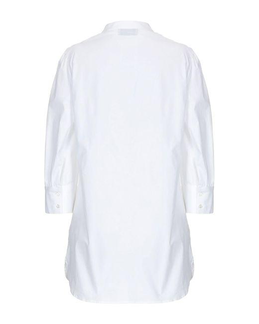 Ki6? Who Are You? Camisa de mujer de color blanco FyMy3