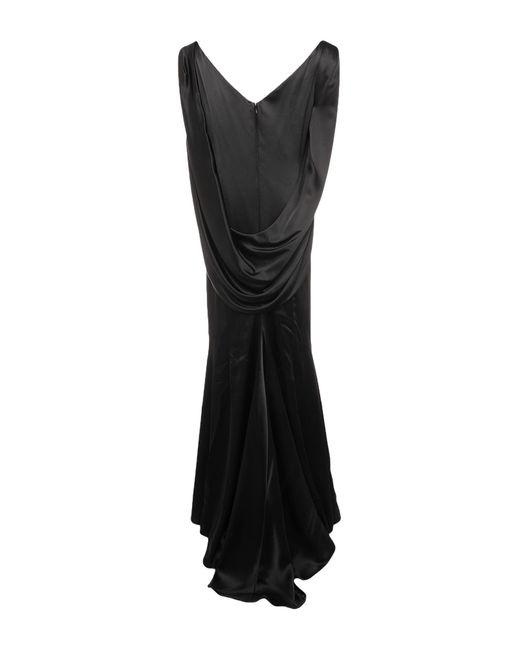 Vestito lungo di Talbot Runhof in Black
