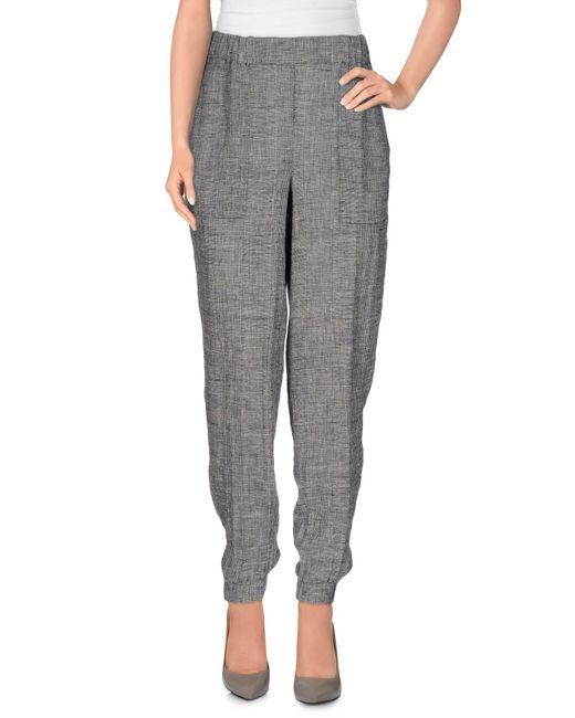 INTROPIA Pantalones de mujer de color gris