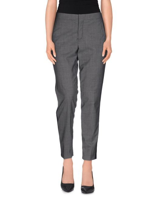 Ports 1961 - Gray Casual Pants - Lyst