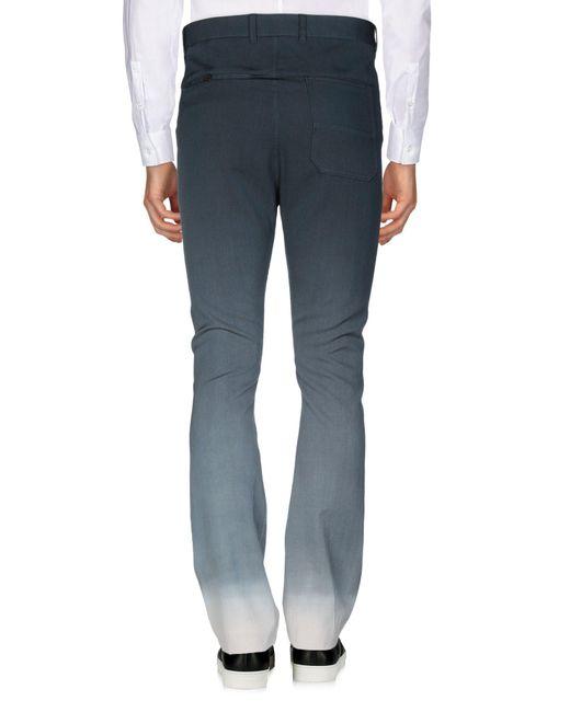 Pantalone di Lanvin in Blue da Uomo