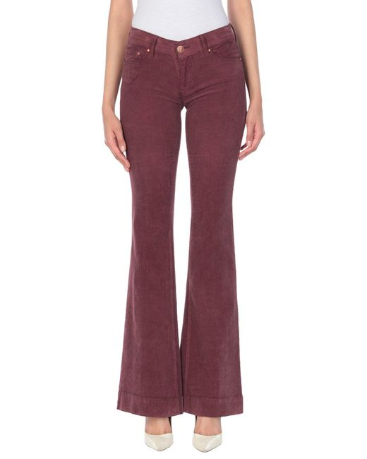 Don't Cry Purple Casual Pants