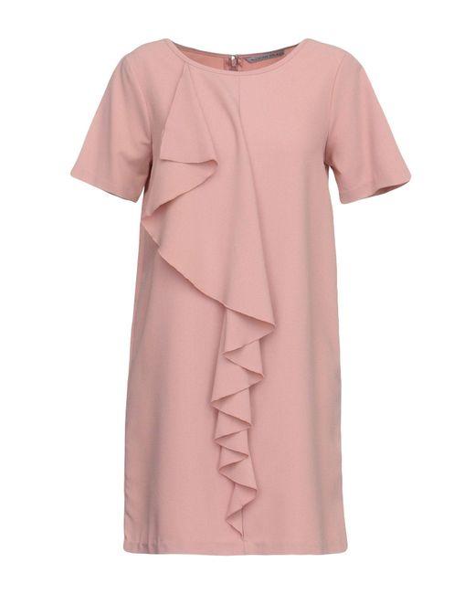 Silvian Heach - Pink Short Dress - Lyst