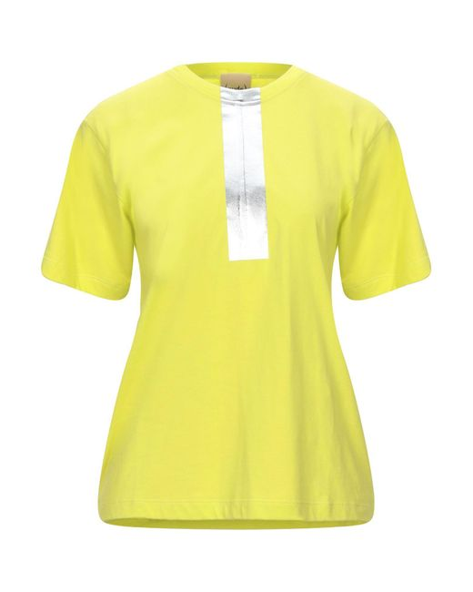 T-shirt di Nude in Yellow