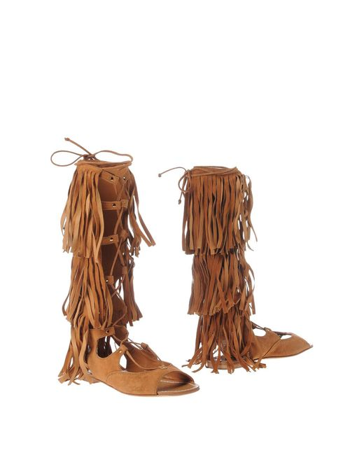 Space Style Concept   Brown Boots   Lyst