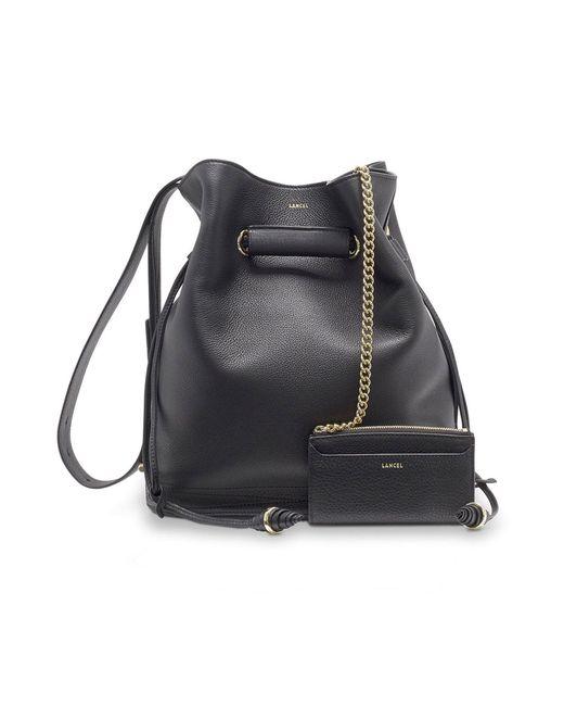 Lancel - Black Cross-body Bag - Lyst