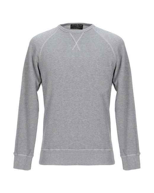 Athletic Vintage Gray Sweatshirt for men